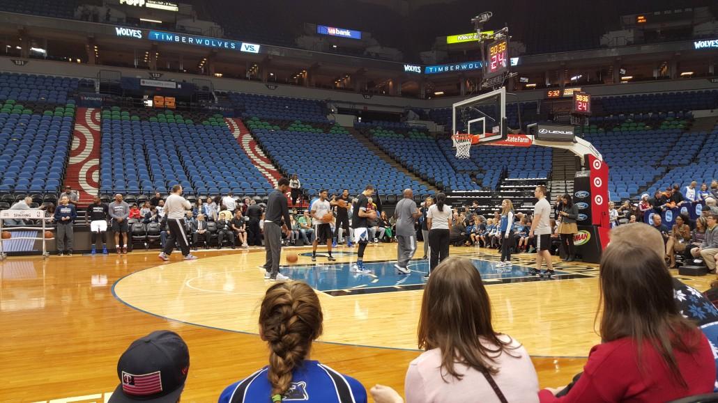 Video of basketball game