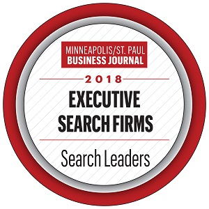 MSP Business Journal Top Executive Search Firm 2018