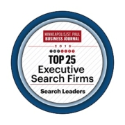 MSP Business Journal Top 25 Executive Search Firm 2016