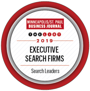 MSP Business Journal Top Executive Search Firm 2019