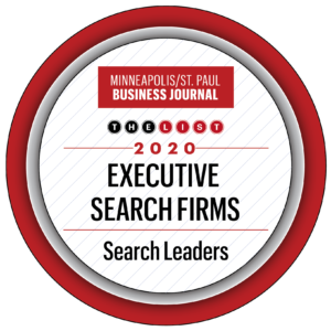 MSP Business Journal Top Executive Search Firm 2020