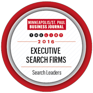MSP Business Journal Top Executive Search Firm 2016